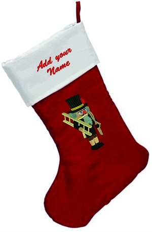 Handyman Personalized  Christmas Stocking-Christmas stockings Personalized Christmas stockings Handyman embroidery Handyman Christmas stockings embroidered Christmas stockings stitchedinfaith.com