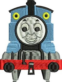 Thomas the train-Thomas the train, machine embroidery, Thomas embroidery, train