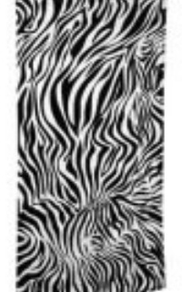 Zebra Beach Towels custom embroidered