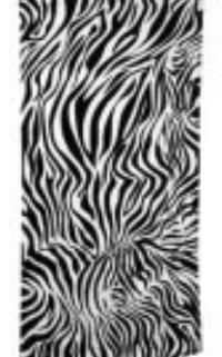 Zebra Beach Towels custom embroidered